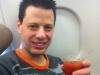 Der obligatorische Bloody Mary im Flieger. :D