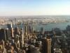 Blick über die Dächer von New York vom Empire State Buildung aus