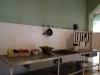 Küche in Alcatraz