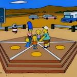 Aus den Simpsons